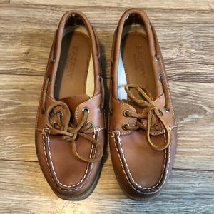 Sperry Leather Slip Ons